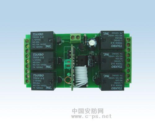 供应6路控制器 遥控开关 墙壁开关 电动遥控卷闸门控制板